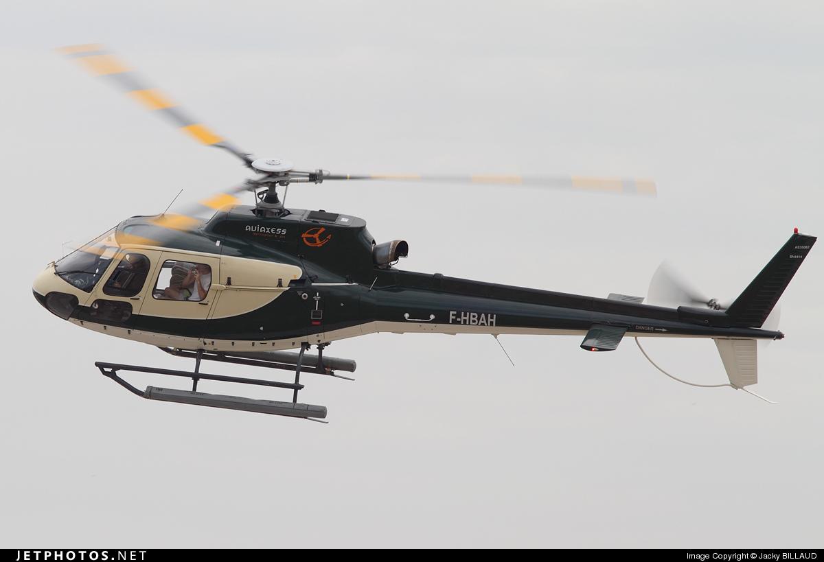 F-HBAH - Aérospatiale AS 350B2 Ecureuil - Private