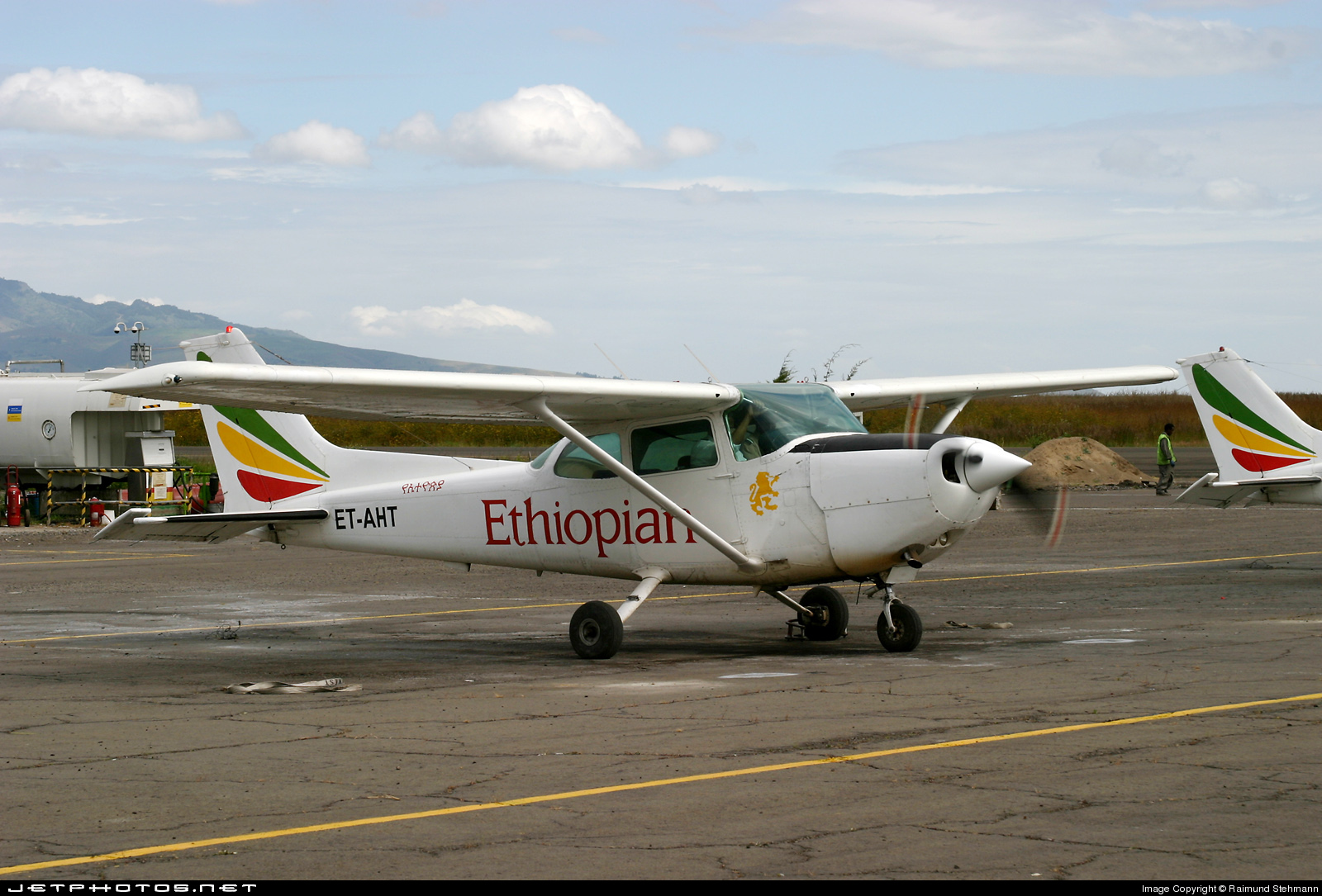 ET-AHT - Cessna R172K Hawk XP - Ethiopian Airlines