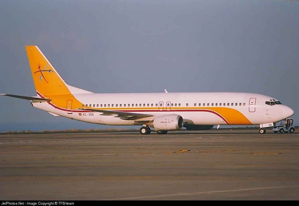 EC-308   Boeing 737-4Y0   Futura International Airways   TFS/team    JetPhotos