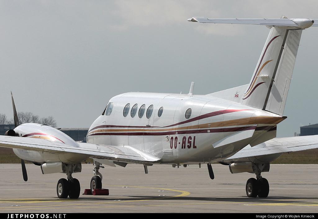 OO-ASL - Beechcraft B200 Super King Air - Air Service Liège (ASL)