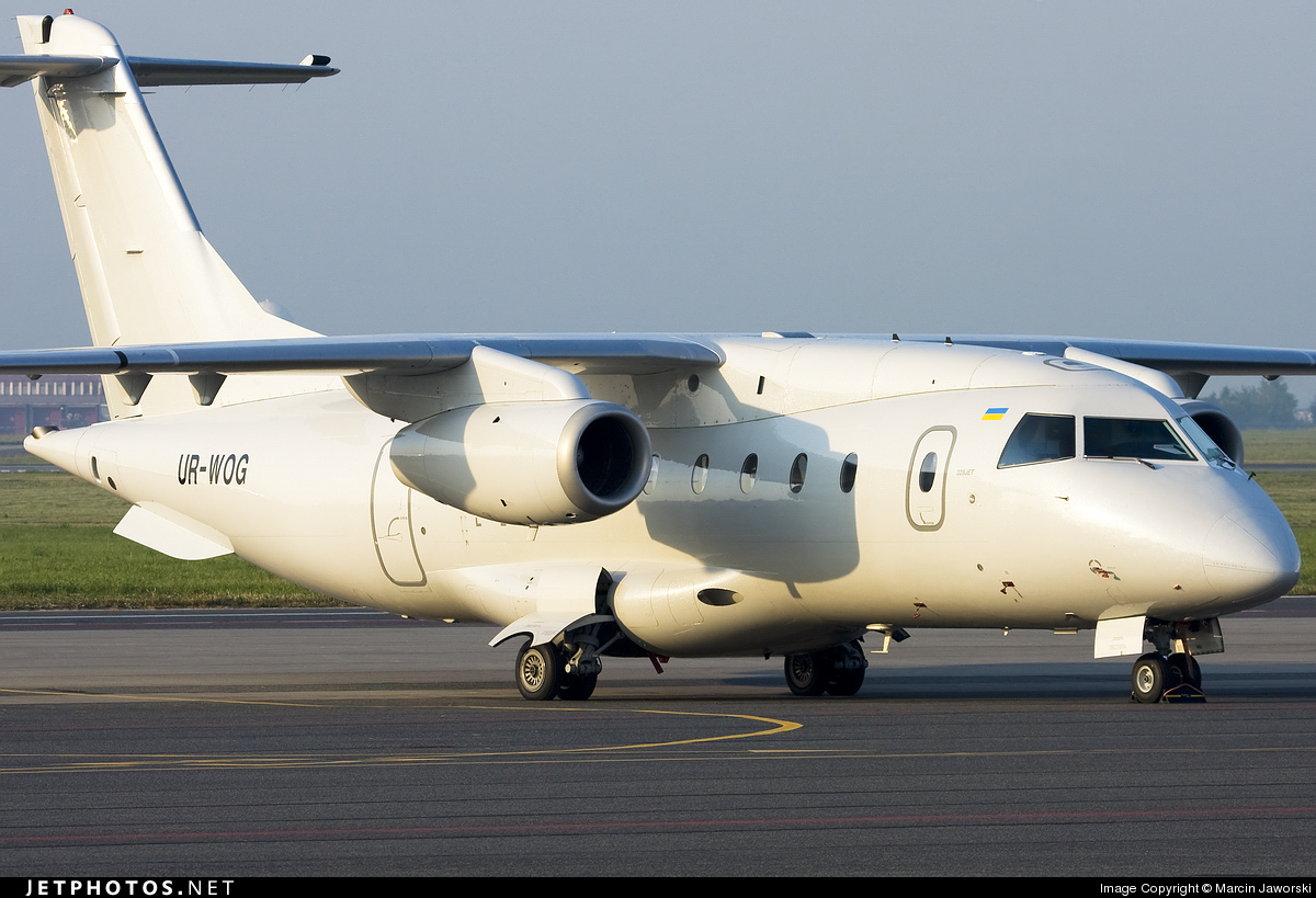 UR-WOG - Dornier Do-328-300 Jet - Aerostar