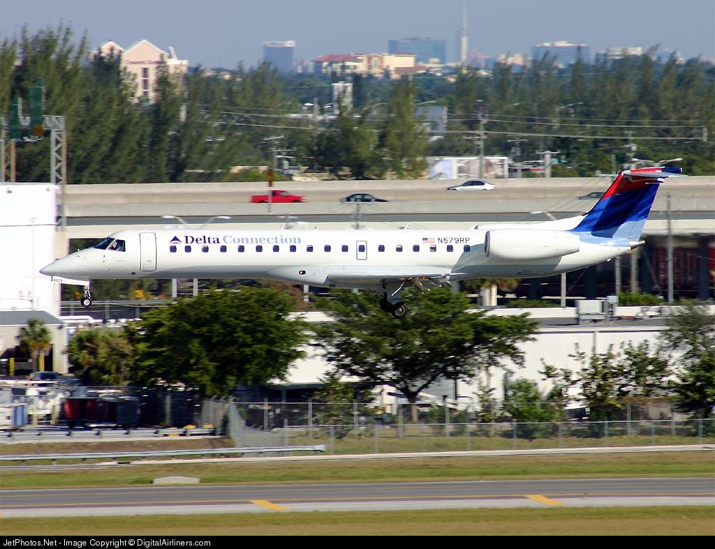 N579RP - Embraer ERJ-145LR - Delta Connection (Chautauqua Airlines)