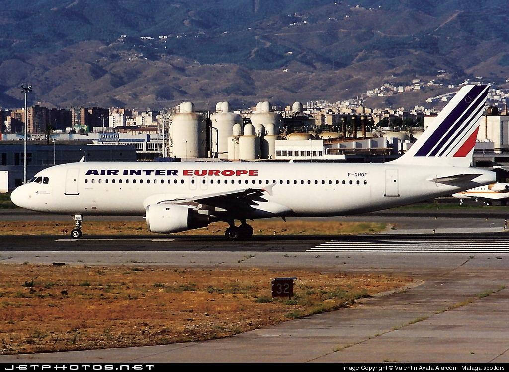 F-GHQF - Airbus A320-211 - Air Inter Europe