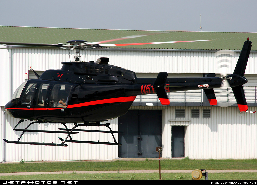 N51689 - Bell 407 - Private