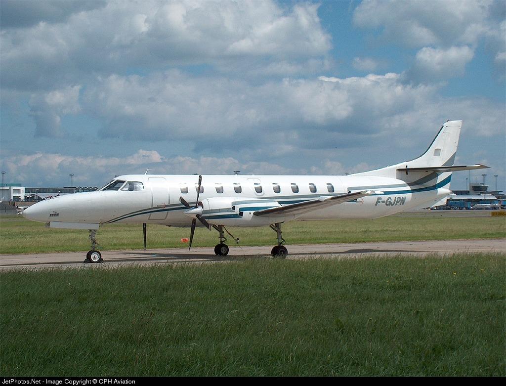 F-GJPN - Fairchild SA227-AC Metro III - Champagne Airlines