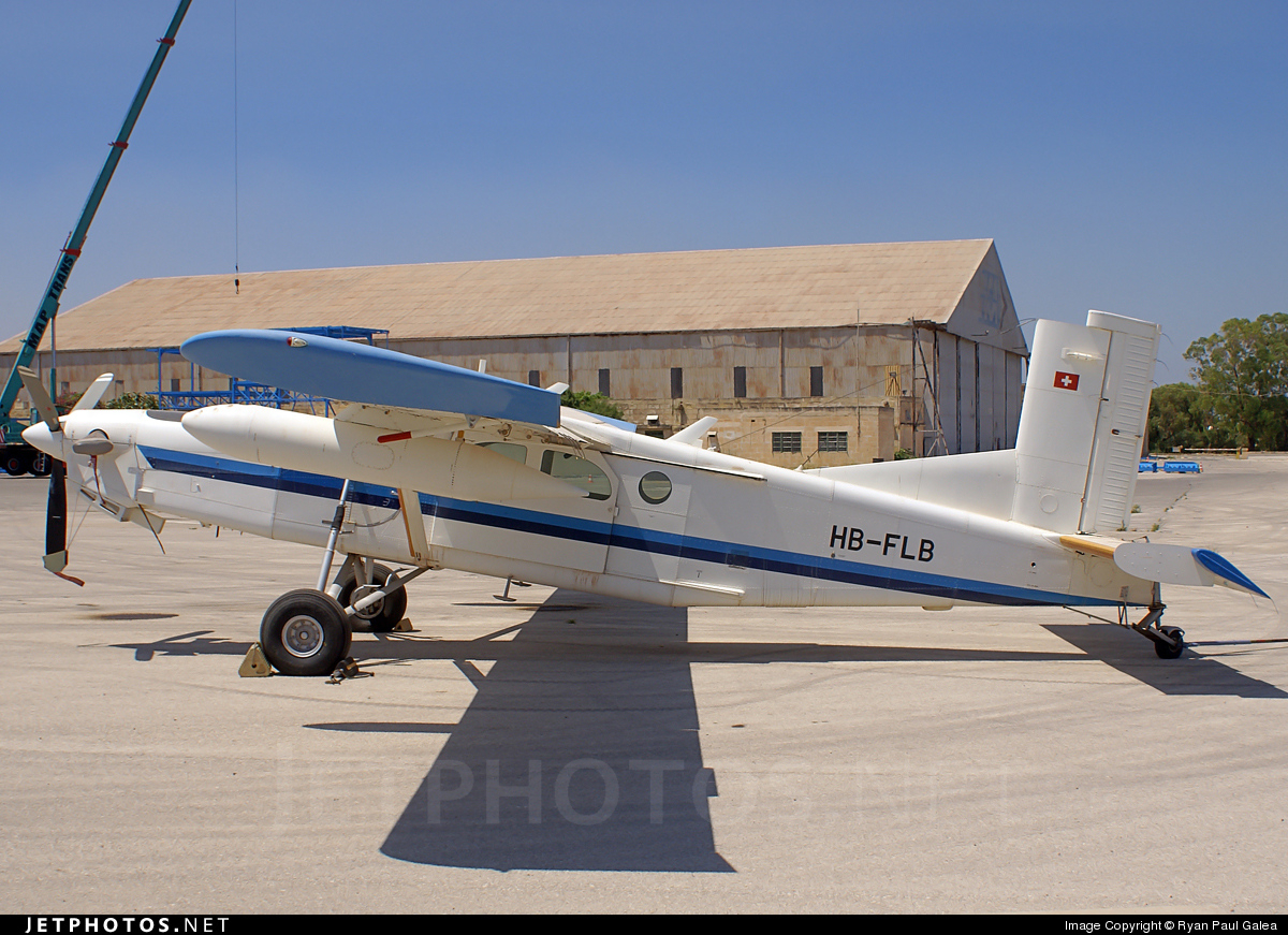 HB-FLB - Pilatus PC-6/B2-H4 Turbo Porter - Zimex Aviation