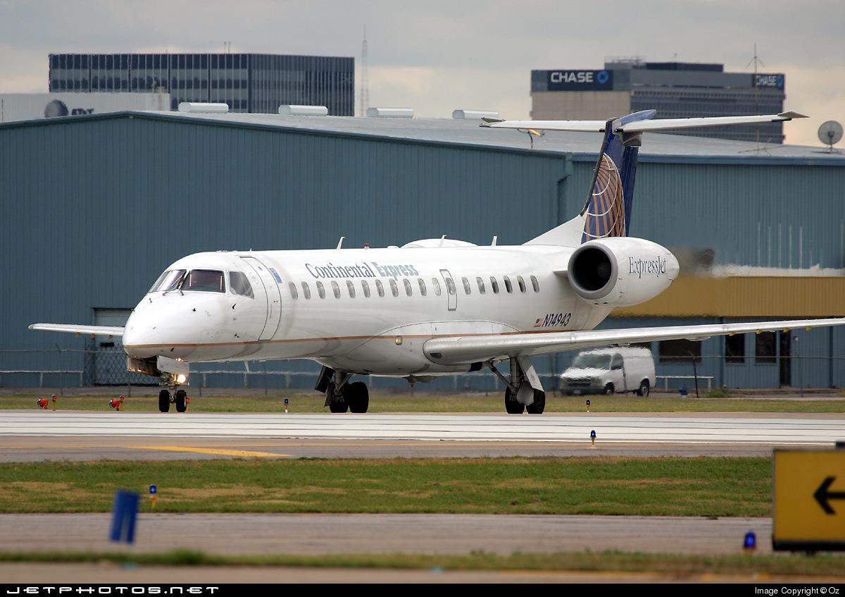 N14943 - Embraer ERJ-145EP - Continental Express (ExpressJet Airlines)
