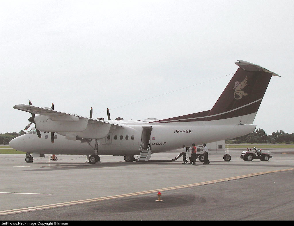 PK-PSV - De Havilland Canada DHC-7-103 Dash 7 - Pelita Air