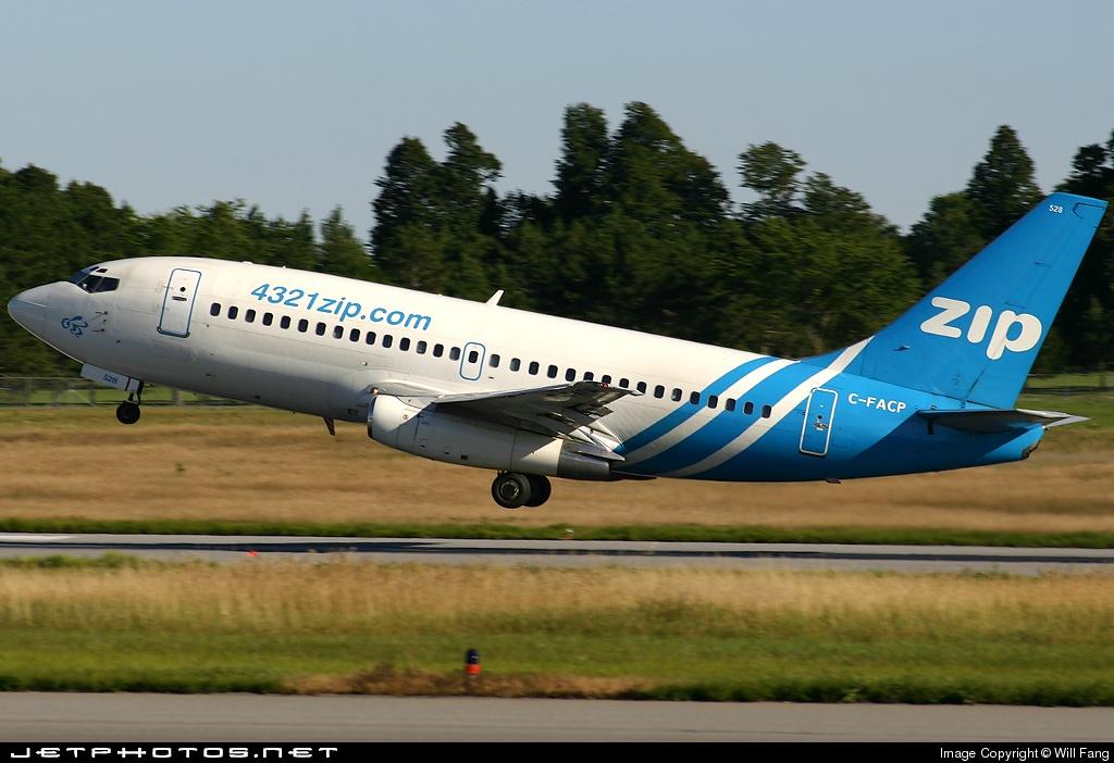 C-FACP - Boeing 737-2L9(Adv) - Zip