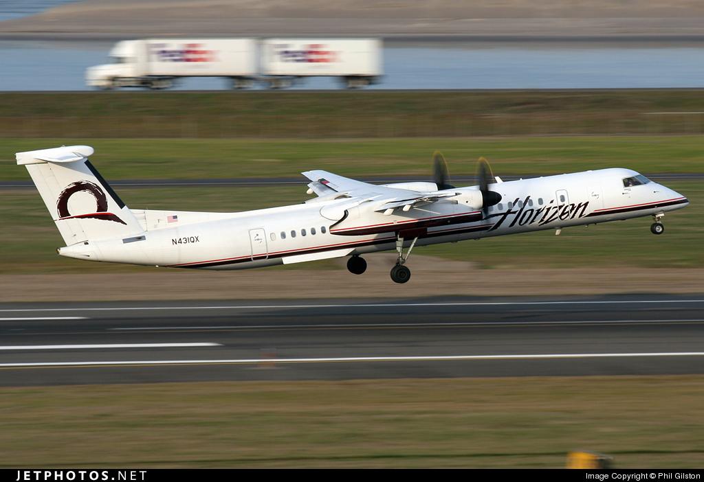 N431QX - Bombardier Dash 8-Q402 - Horizon Air