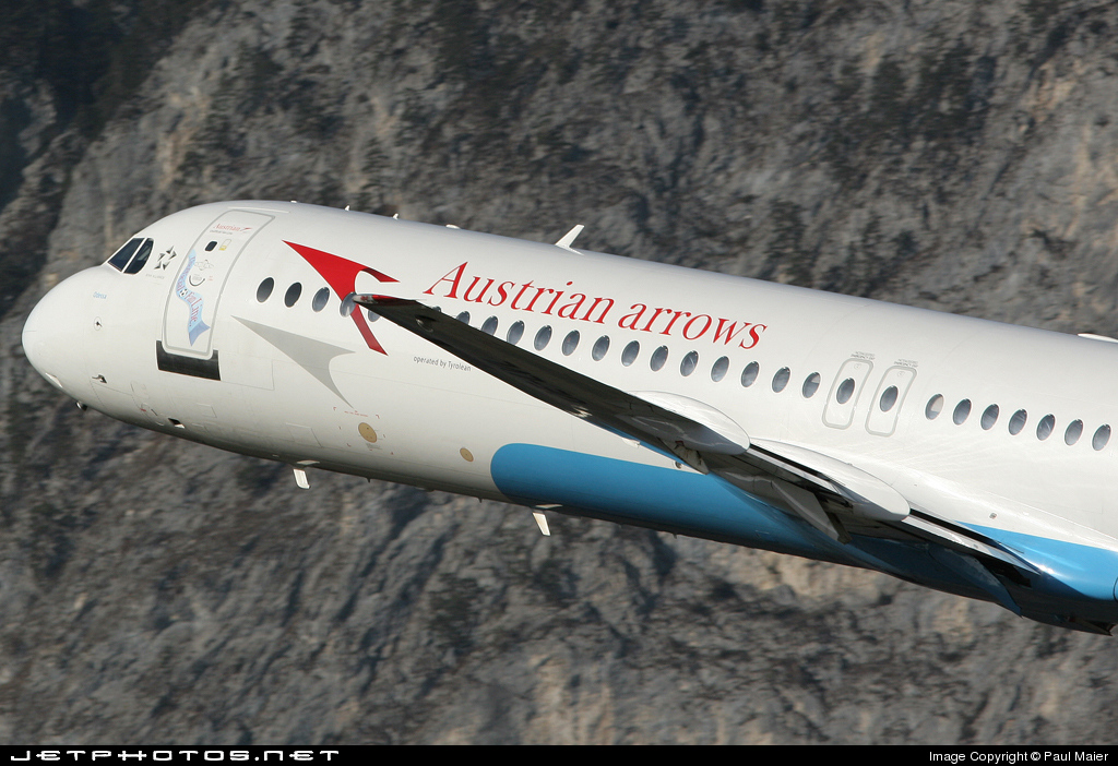 OE-LVM - Fokker 100 - Austrian Arrows