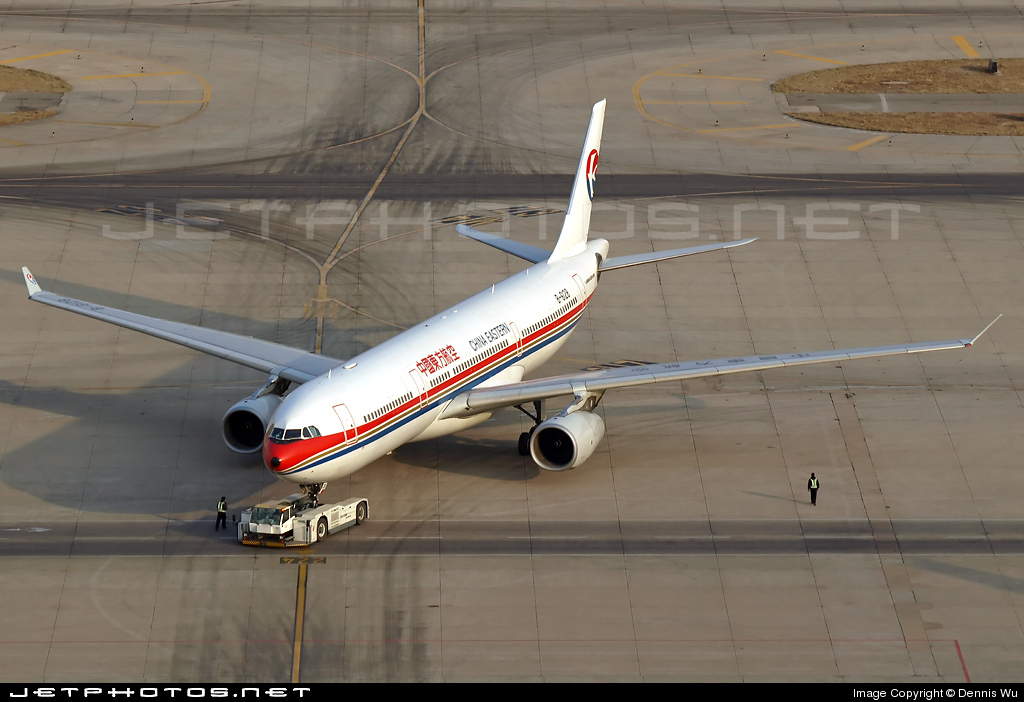B-6128 - Airbus A330-343 - China Eastern Airlines