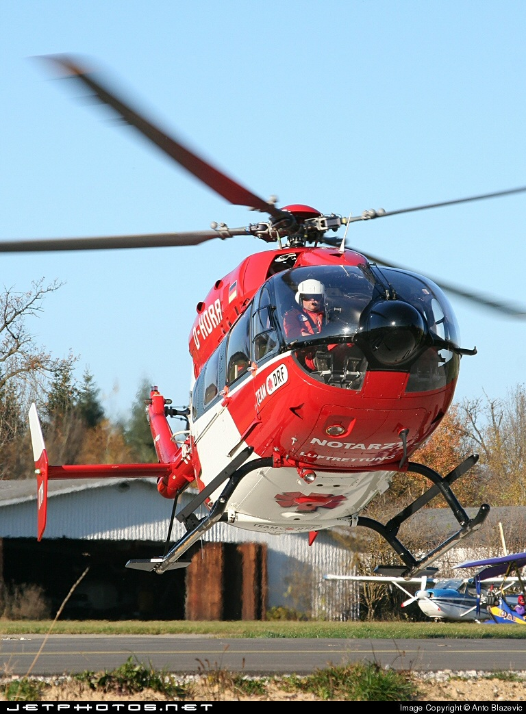 D-HDRR - Eurocopter EC 145 - HDM Flugservice