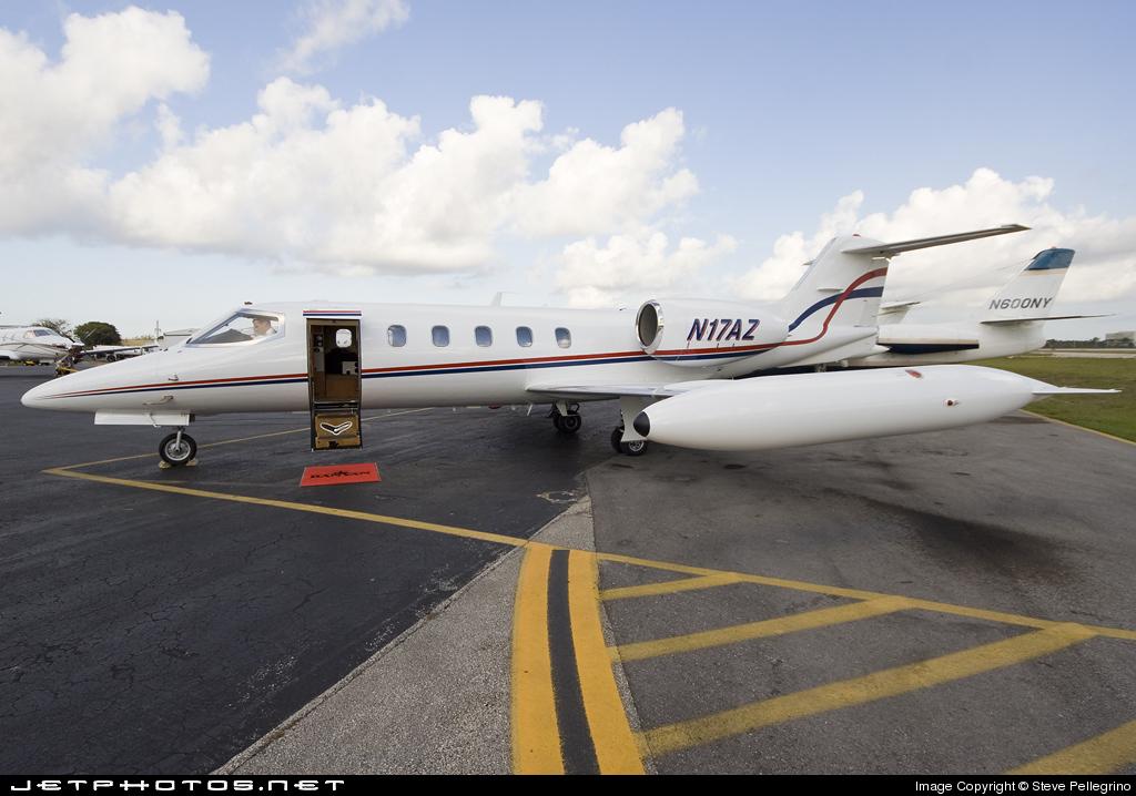 N17AZ - Gates Learjet 35A - Private