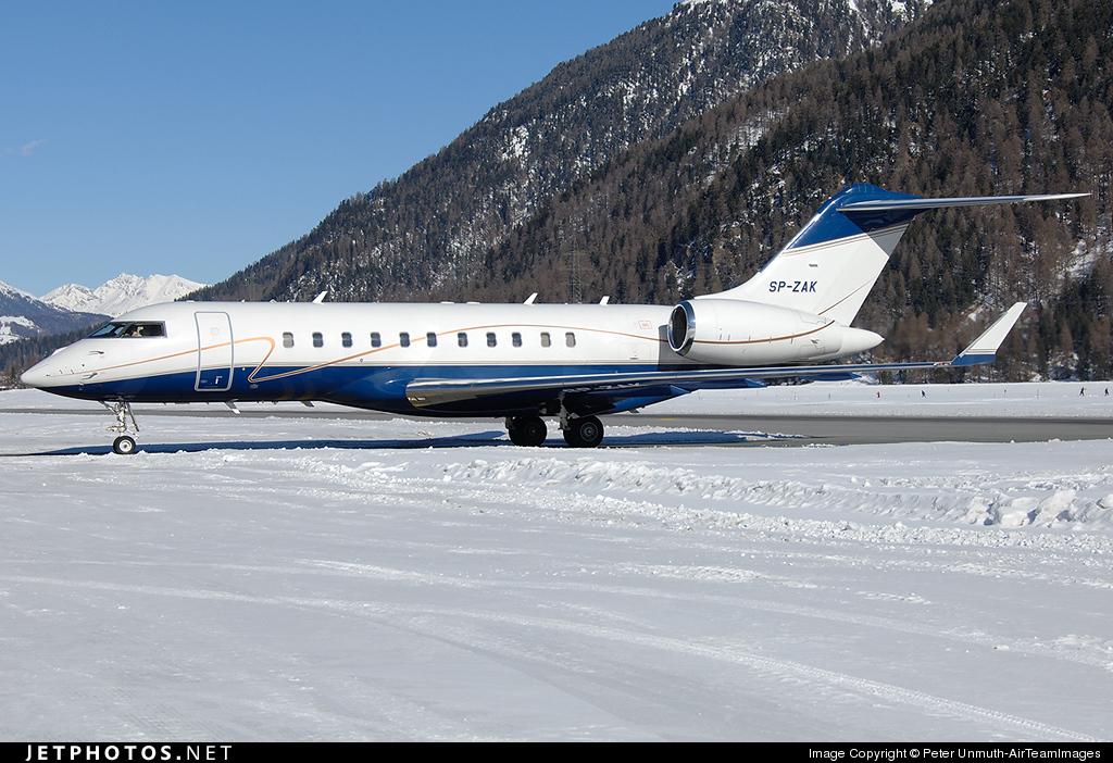 SP-ZAK - Bombardier BD-700-1A11 Global 5000 - Jet Story