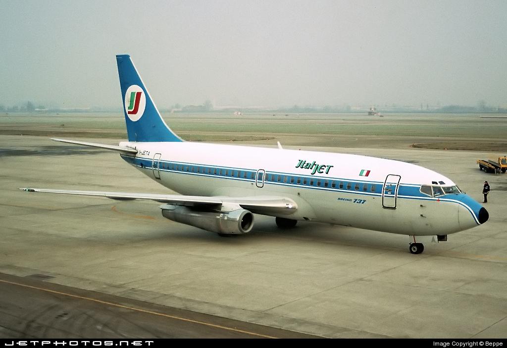 I-JETA - Boeing 737-229(Adv) - Italjet