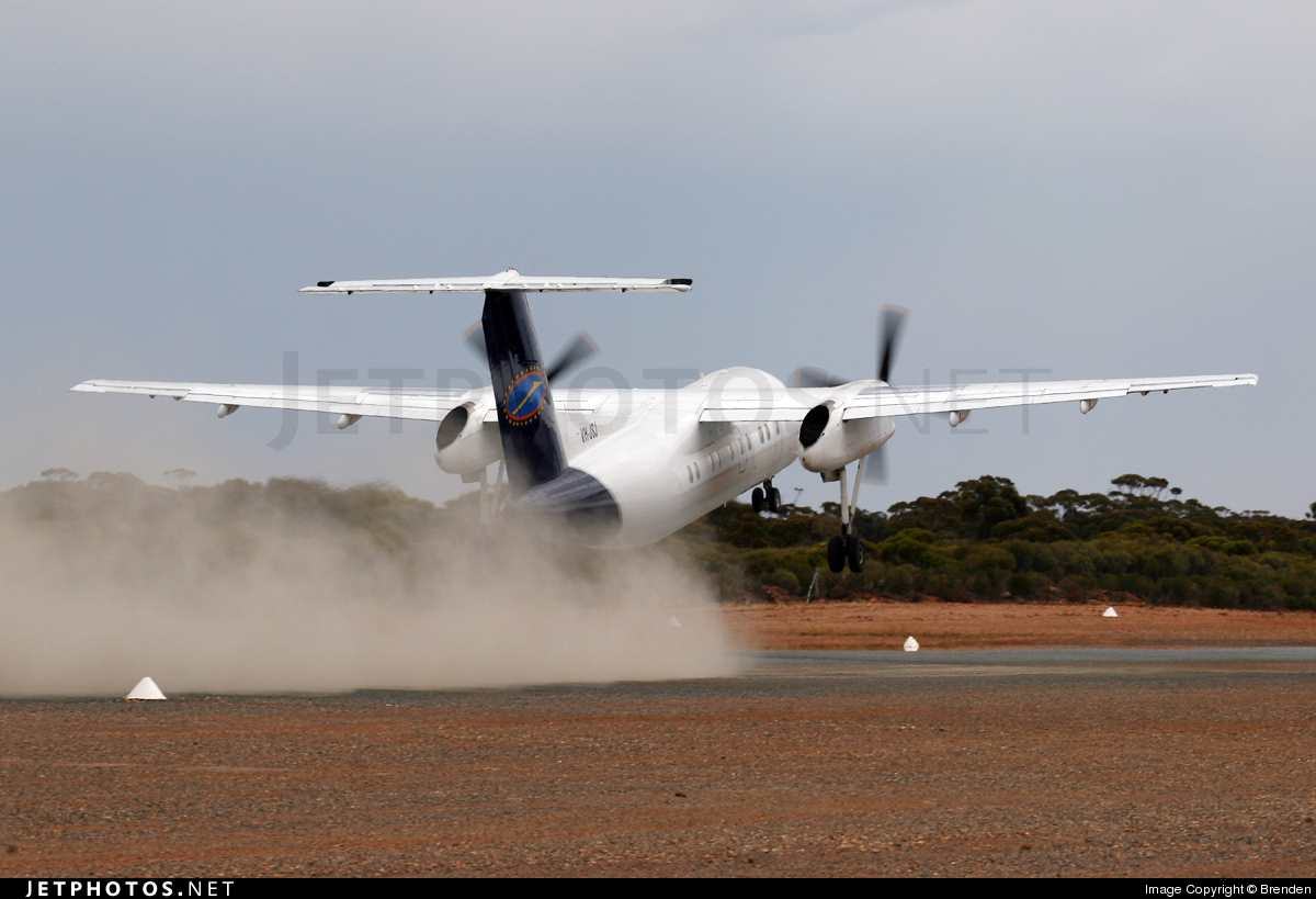 VH-JSJ - Bombardier Dash 8-103 - Cobham Aviation Services Australia