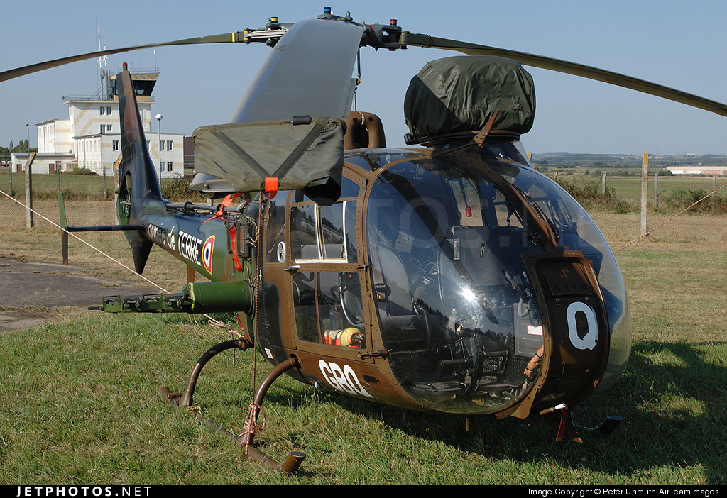 4119 - Aérospatiale SA 342 Gazelle - France - Army