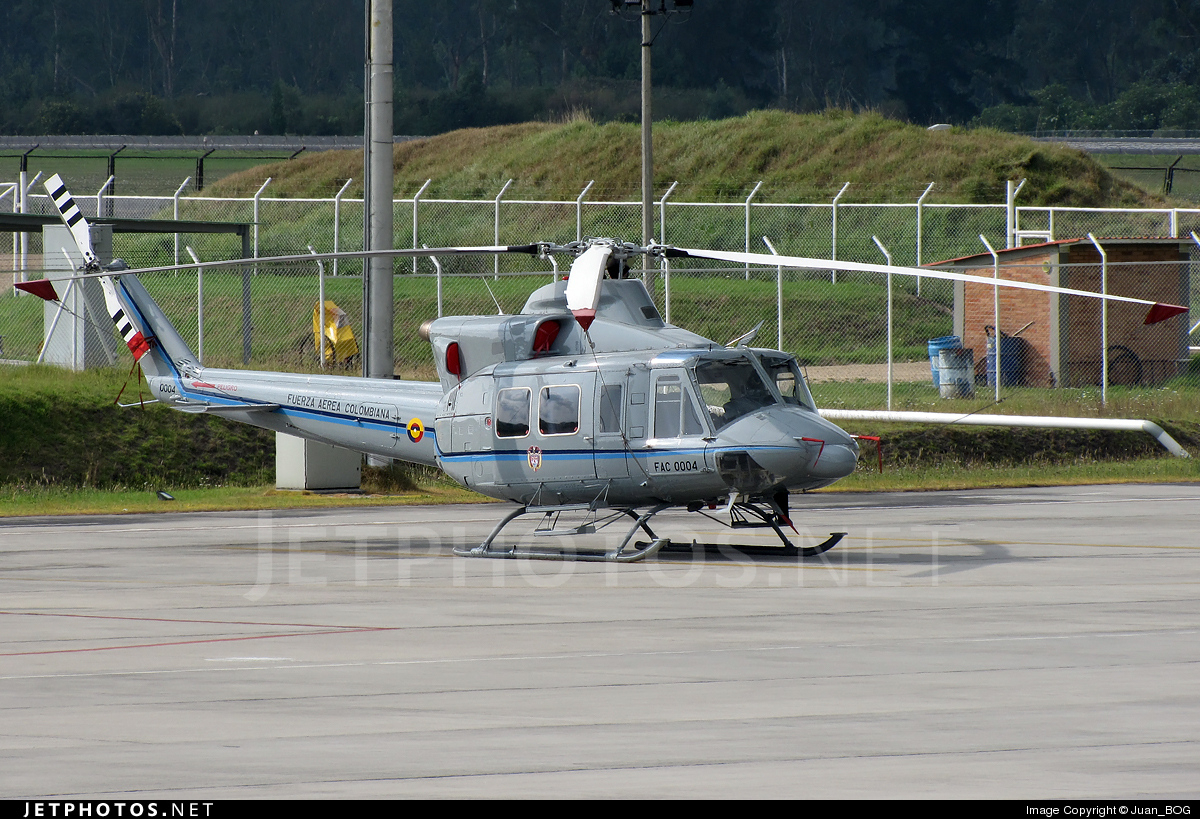 FAC0004 - Bell 412 - Colombia - Air Force