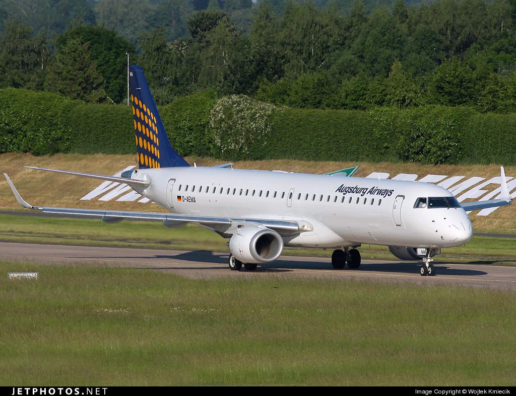 D-AEMA - Embraer 190-200LR - Augsburg Airways