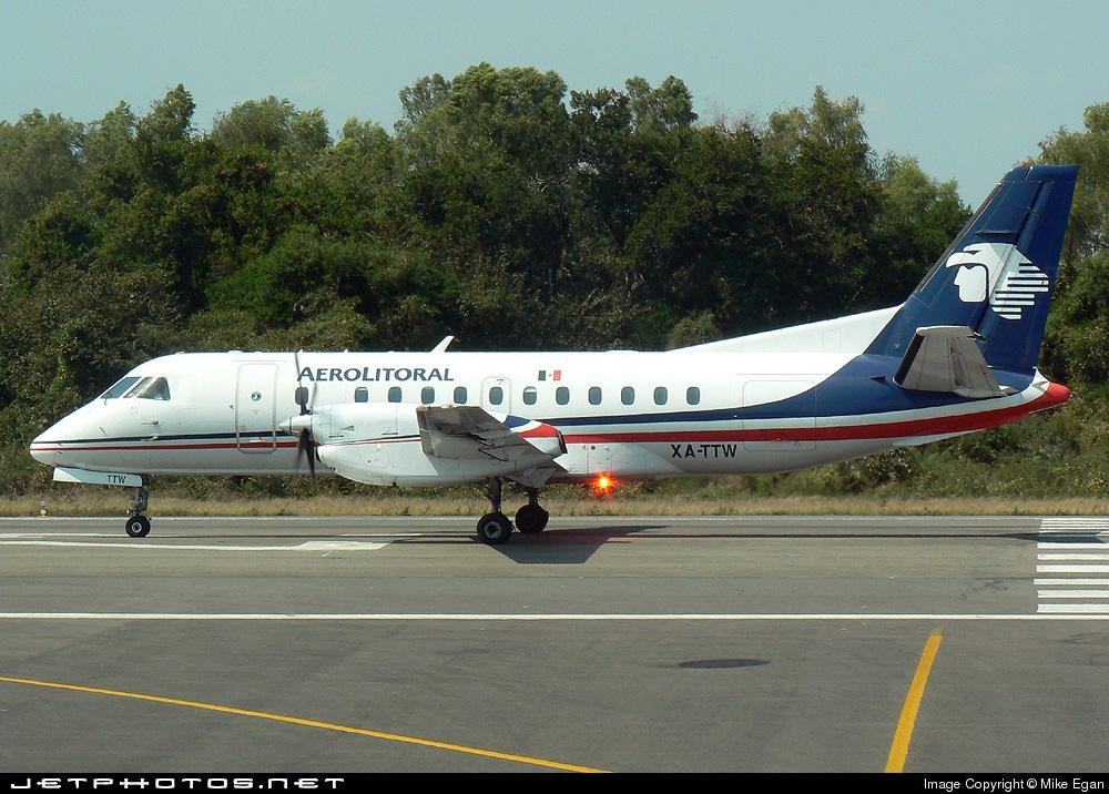 XA-TTW - Saab 340B - Aerolitoral