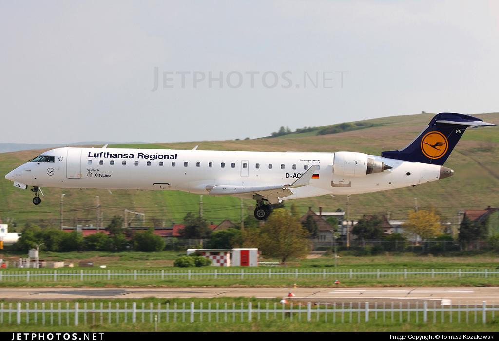 D-ACPN - Bombardier CRJ-701 - Lufthansa Regional (CityLine)
