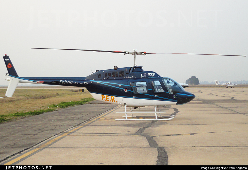 LQ-BZF - Bell 206B JetRanger III - Argentina - Police of Entre Rios