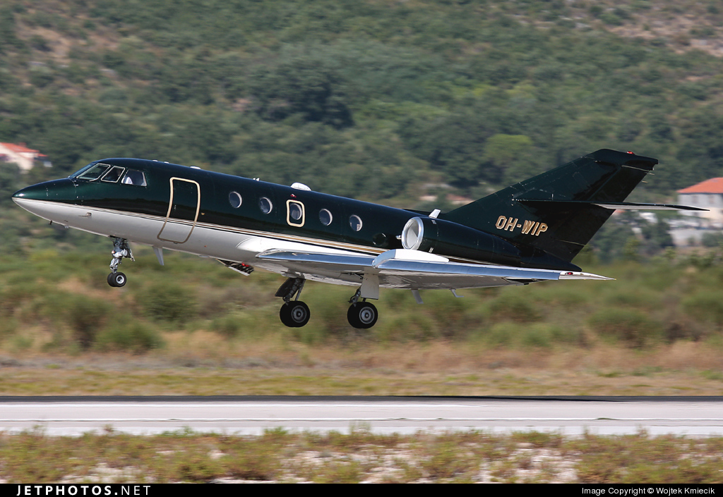 OH-WIP - Dassault Falcon 20F-5 - JetFlite
