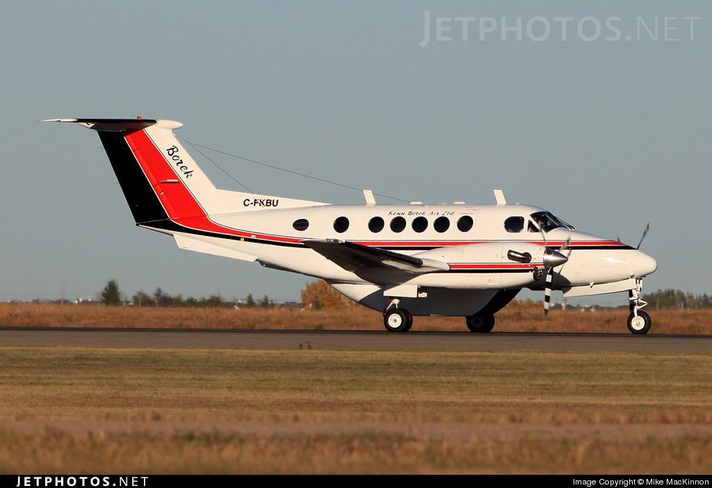 C-FKBU - Beechcraft 200 Super King Air - Kenn Borek Air