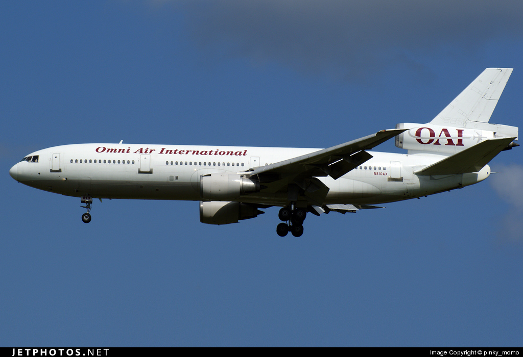 N810AX - McDonnell Douglas DC-10-30(ER) - Omni Air International (OAI)