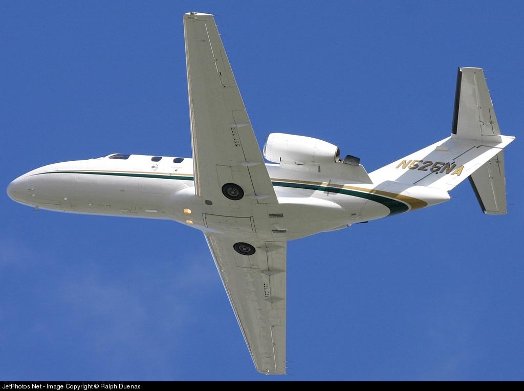 N525NA - Cessna 525 CitationJet 1 - Jacksons Food Stores