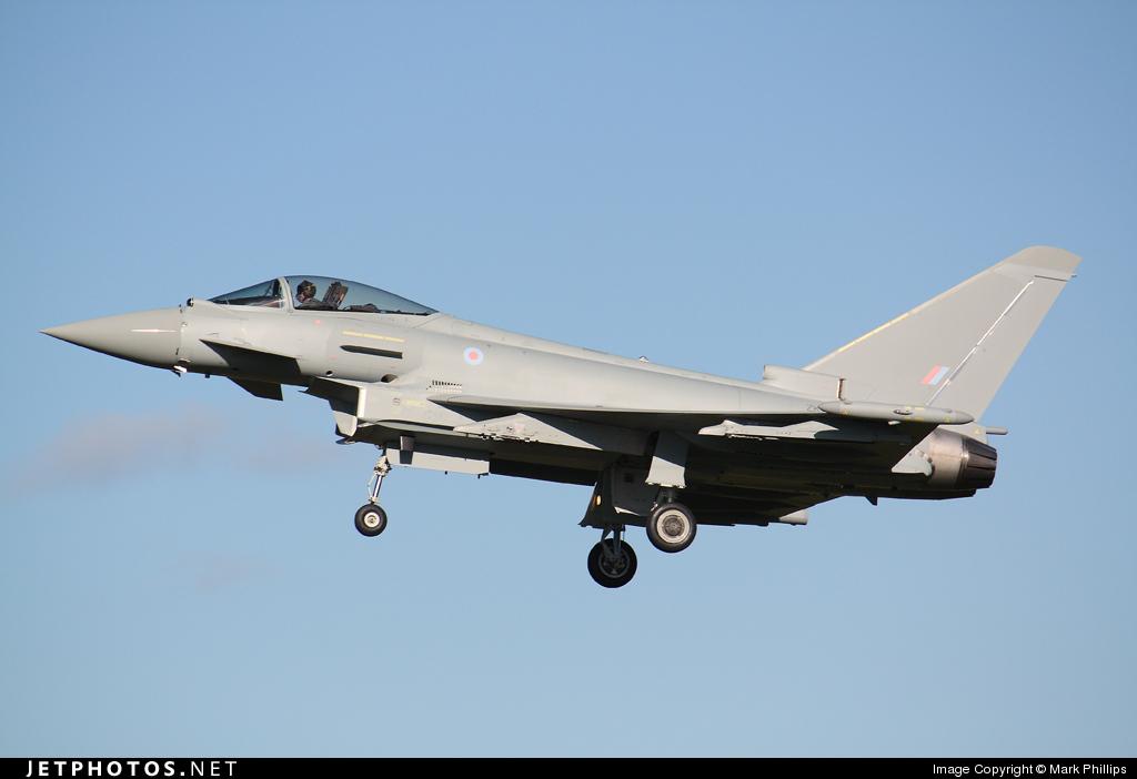 ZK311 - Eurofighter Typhoon FGR.4 - United Kingdom - Royal Air Force (RAF)