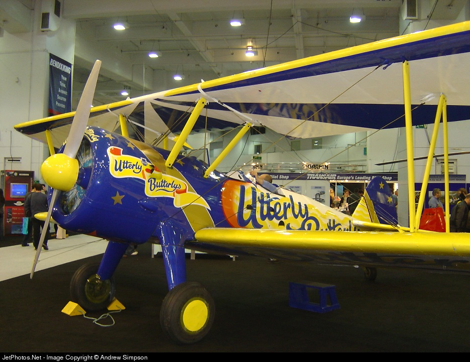 - Boeing A75N1 Stearman - Utterly Butterly Barnstormers