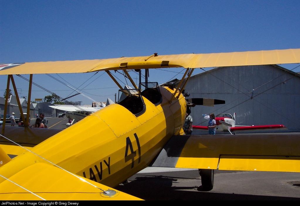 N69765 - Boeing PT-17 Kaydet - Private