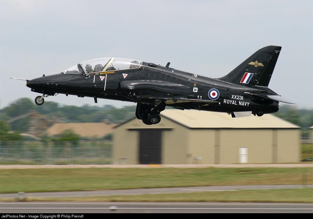 XX231 - British Aerospace Hawk T.1W - United Kingdom - Royal Navy