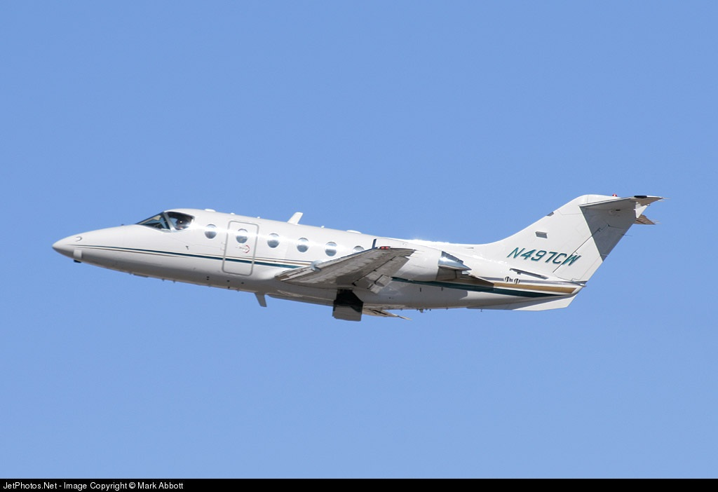 N497CW - Beechcraft 400A Beechjet - Private