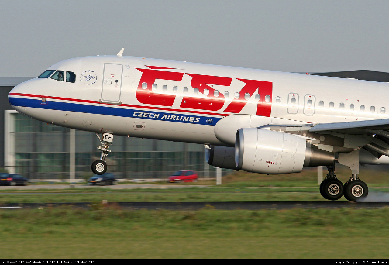 OK-LEF - Airbus A320-214 - CSA Czech Airlines
