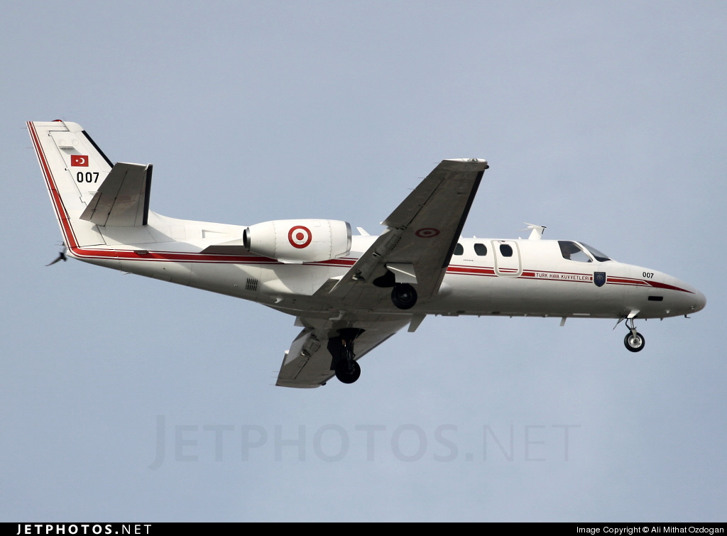 007 - Cessna 550 Citation II - Turkey - Air Force