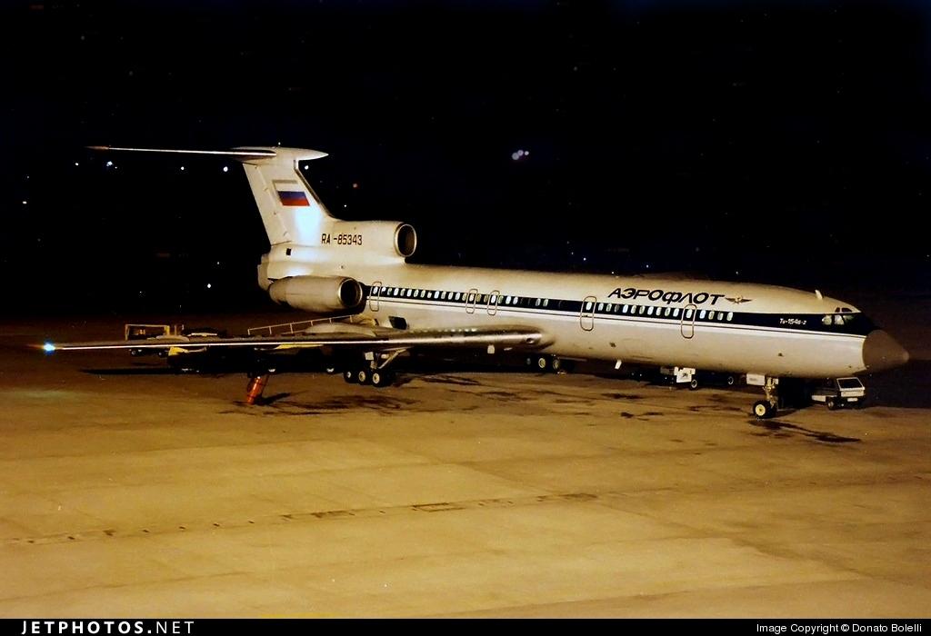 RA-85343 - Tupolev Tu-154B-2 - Aeroflot