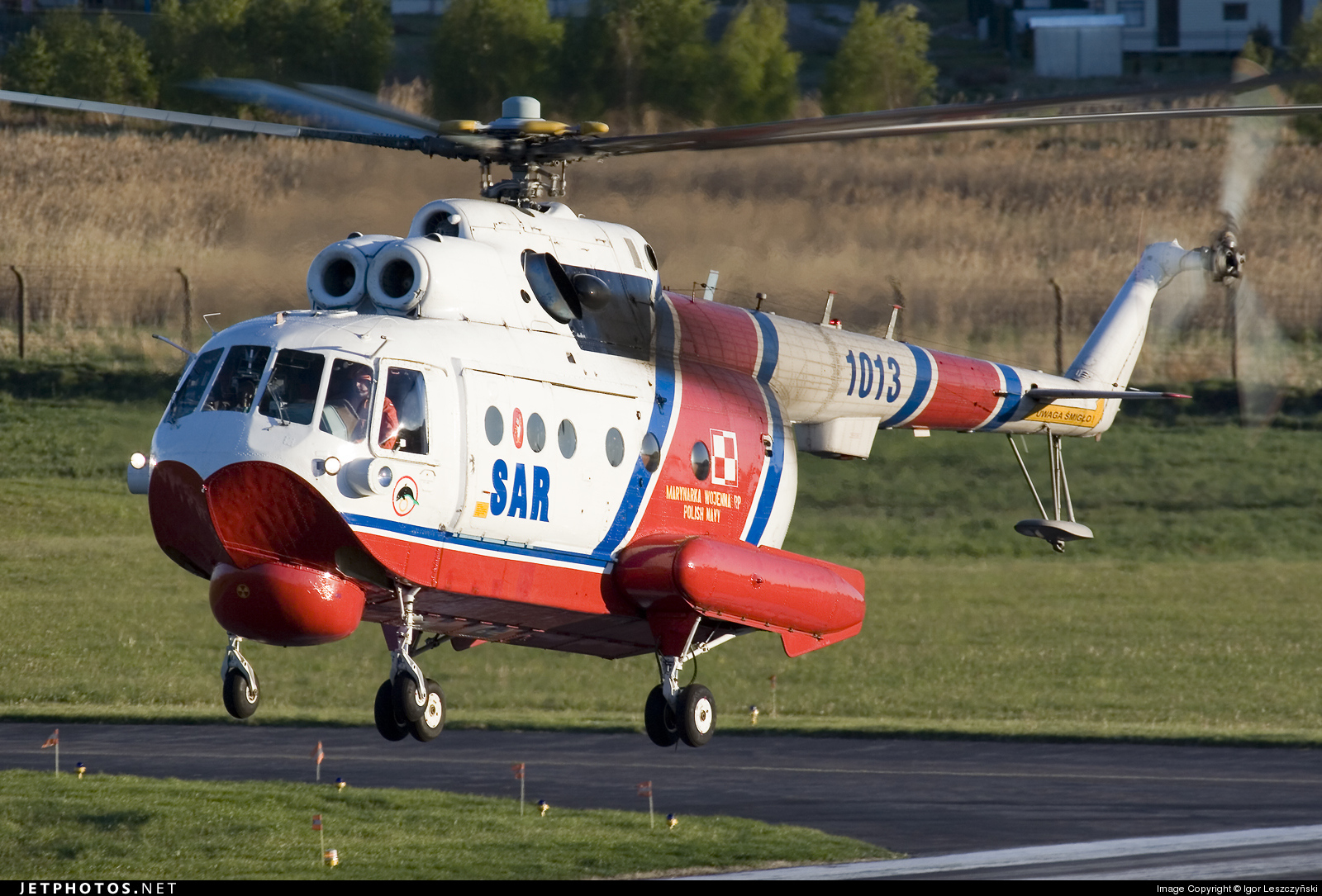 1013 - Mil Mi-14PS Haze A - Poland - Navy