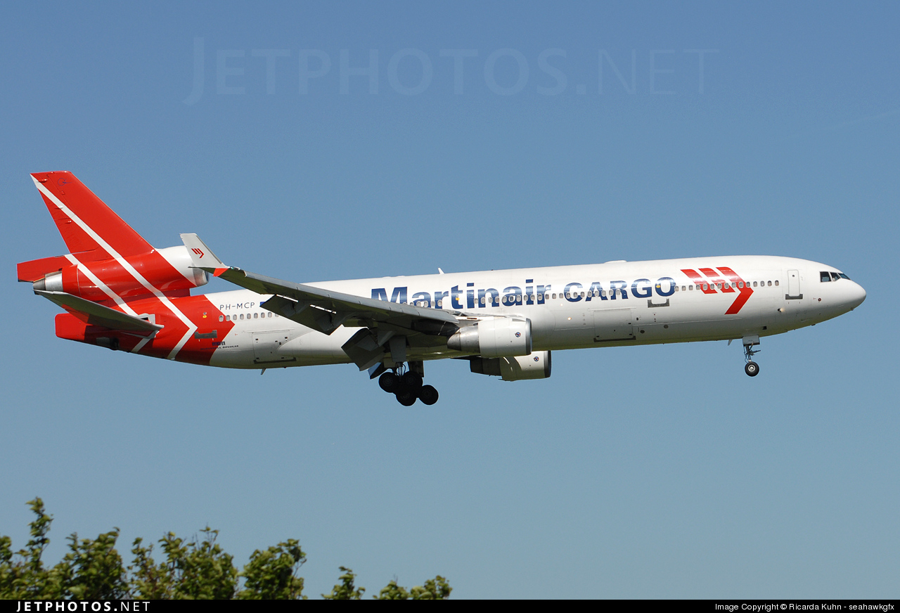 PH-MCP | McDonnell Douglas MD-11(CF) | Martinair Cargo | Ricarda