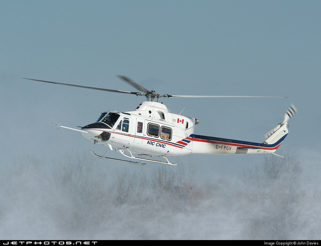 C-FPGV | Bell 412 | Canada - National Research Council
