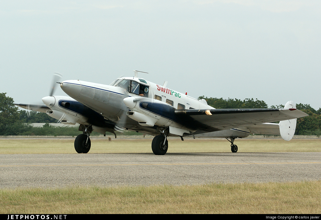 N38L - Beech C-45J Expeditor - Private