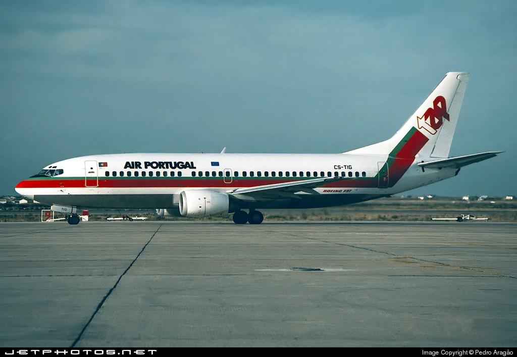 CS-TIG - Boeing 737-3K9 - TAP Portugal