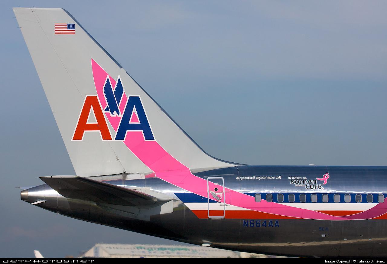 N664aa Boeing 757 223 American Airlines Fabricio