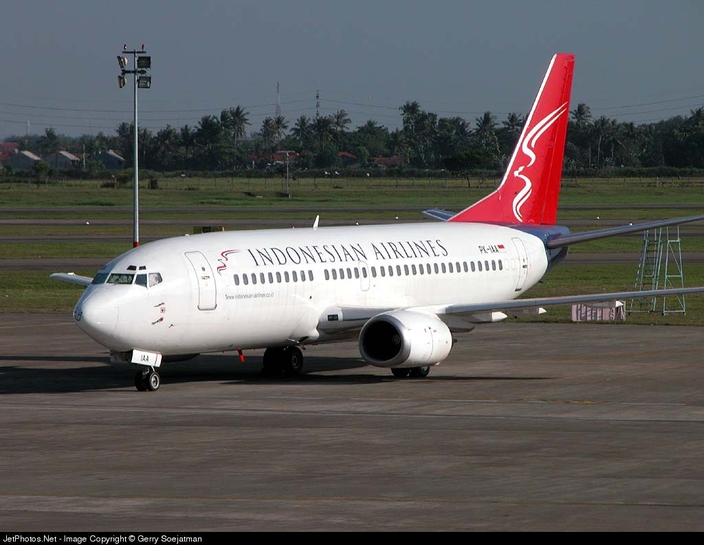 PK-IAA - Boeing 737-330 - Indonesian Airlines