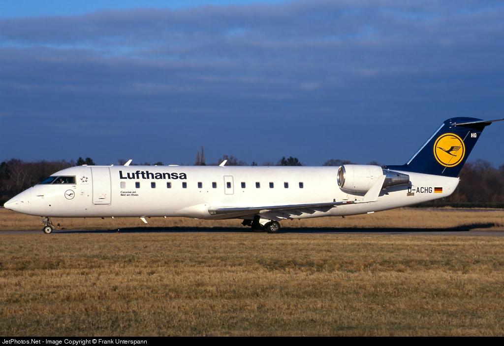D-ACHG - Bombardier CRJ-200LR - Lufthansa CityLine