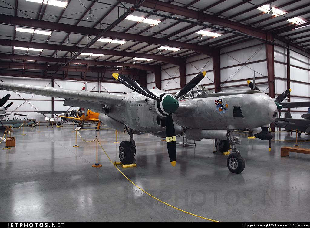 N718 - Lockheed P-38L Lightning - Private