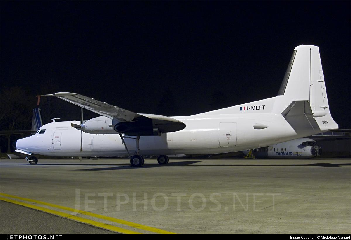 I-MLTT - Fokker F27-500F Friendship - Miniliner