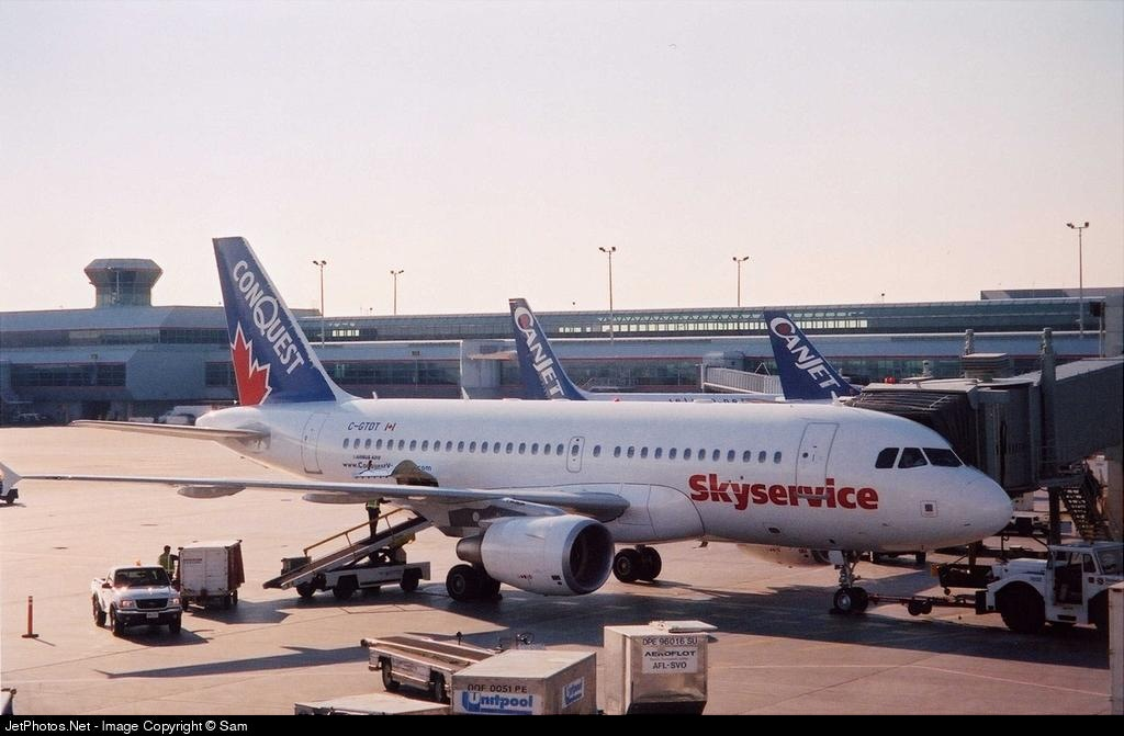 C-GTDT - Airbus A319-112 - Skyservice Airlines